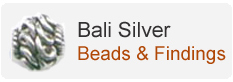 Bali Silver Beads & Findings