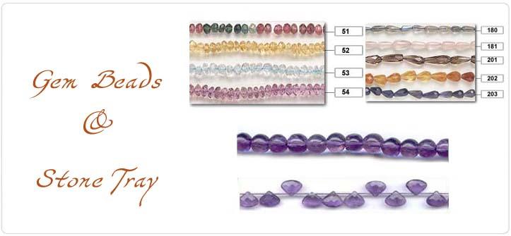 Gem Beads & Stone Tray